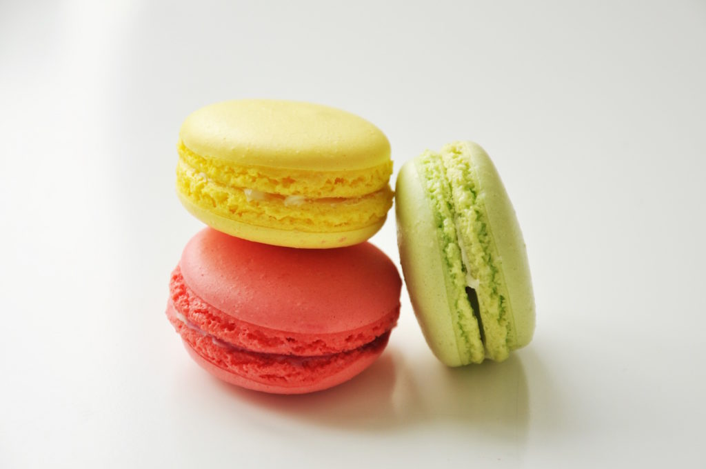 pastel colored macaroons rbc site upgrade image